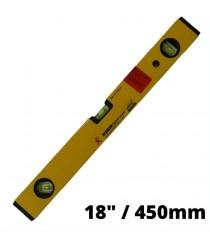 Aluminium Level 18'' REDMAN W/Magnet Gold 18''