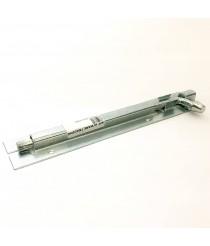 Chrome door bolt 8''#